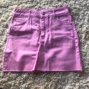 MOTO TOPSHOP mini skirt